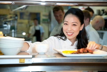 Iron Chef Judy Joo and the Four Seasons Culinary Team Dinner